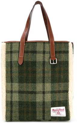 J.W.Anderson Harris Tweed tote bag