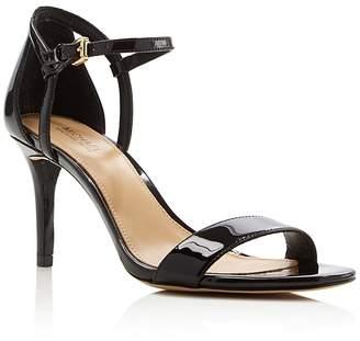 MICHAEL Michael Kors Simone Ankle Strap High Heel Sandals