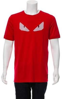 Fendi 2016 Embellished Monster T-Shirt
