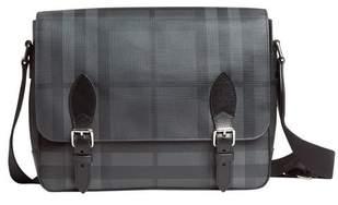 2af2888baac3 Burberry Medium Leather Trim London Check Messenger Bag