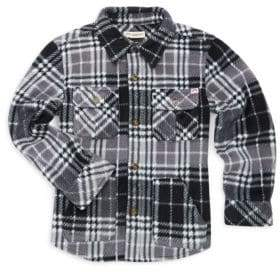 Appaman Little Boy's& Boy's Snow Fleece Shirt