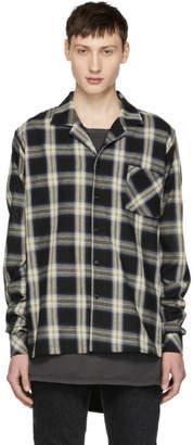 Rhude Multicolor Check Pajama Shirt