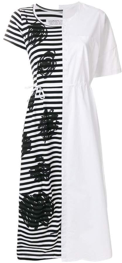 Rundholz Black Label patchwork dress