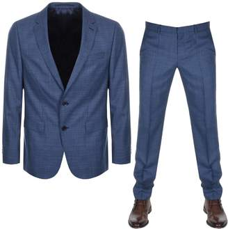 HUGO BOSS Novan5 Ben2 Suit Blue