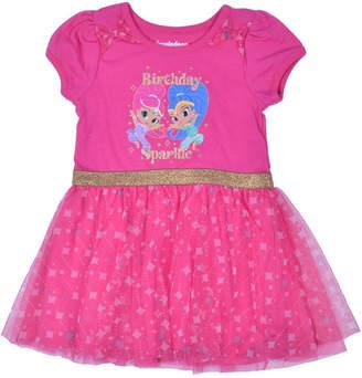 Nickelodeon Short Sleeve Skater Dress - Toddler Girls