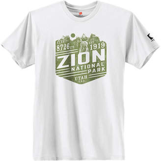 Hanes National Parks Zion National Park Graphic Tee