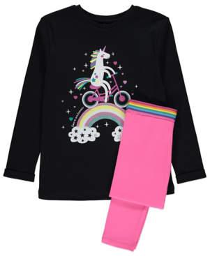 George Unicorn Print Pyjamas