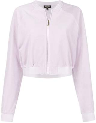 Juicy Couture velour crop top
