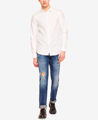 Armani Exchange Men Slim-Fit Destructed Jeans