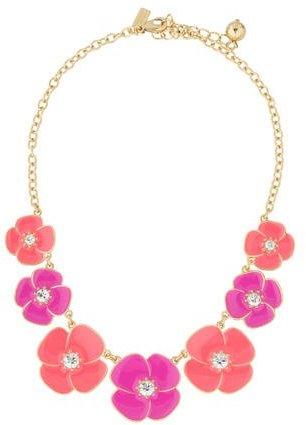 Kate Spade Kate Spade New York Bouquet Floral Statement Necklace
