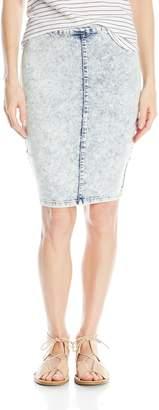 YMI Jeanswear Women's Super Soft High Waist Pencil Skirt