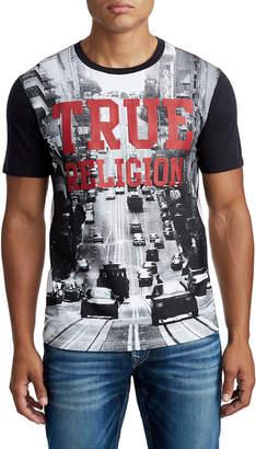 True Religion MENS SAN FRANCISCO CITY GRAPHIC TEE