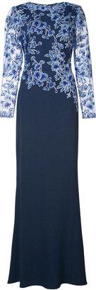 Tadashi Shoji lace floral dress $515 thestylecure.com