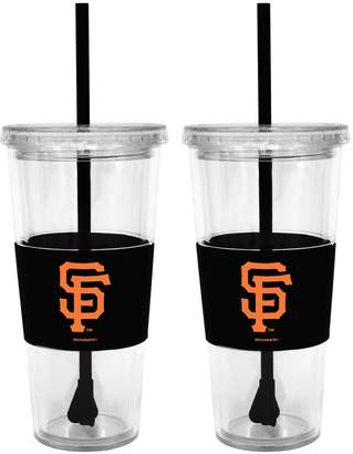 San Francisco Giants 2-pc. Double-Walled Straw Tumbler Set