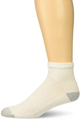 Hanes Ultimate Men's 10-Pack Freshiq Ankle Socks
