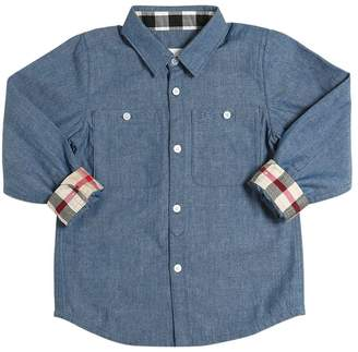 Burberry Cotton Chambray Shirt