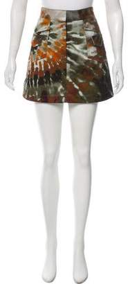 Valentino Printed Mini Skirt w/ Tags