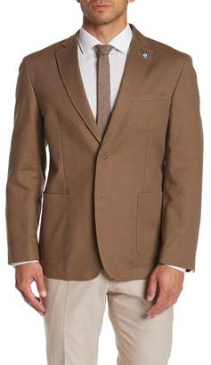 Ben Sherman Front Two Button Solid Sport Coat