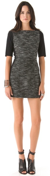 Tibi Maryann Tweed Dress