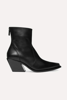 Givenchy Leather Ankle Boots - Black