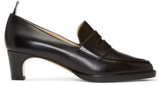 Thom Browne Black Penny Loafer Heels