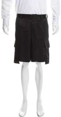 Versace Silk Cargo Shorts