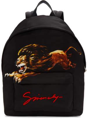 Givenchy Black Leo Urban Backpack