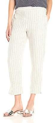 Theory Women's Thorina Narrow Stripe Pant