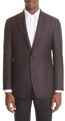 Emporio Armani G Line Trim Fit Wool Blazer