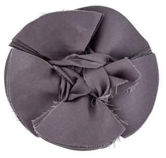 Lanvin Silk Floral Brooch