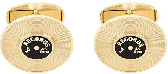 Paul Smith Paul Smith Record cufflinks