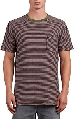 Volcom Men's Preston Short Sleeve Knit Crew Shirt
