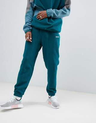adidas EQT Polar Fleece Joggers In Green DH5188