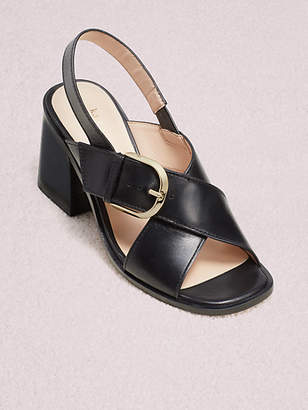 Kate Spade Raleigh Sandals, Black - Size 5