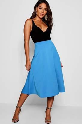 boohoo Full Circle Midi Skirt
