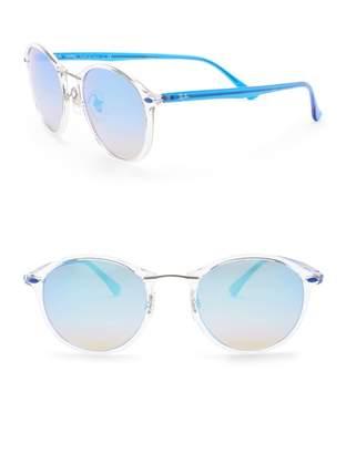 Ray-Ban Phantos 49mm Round Sunglasses