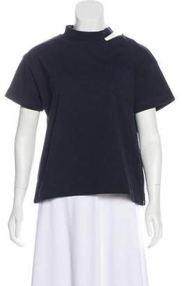 Sacai Crew Neck Short Sleeve T-Shirt