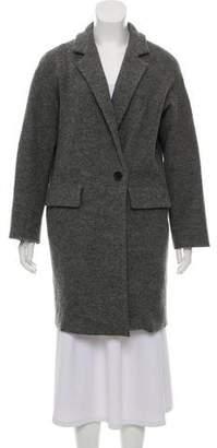 Nili Lotan Wool Notch-Lapel Coat