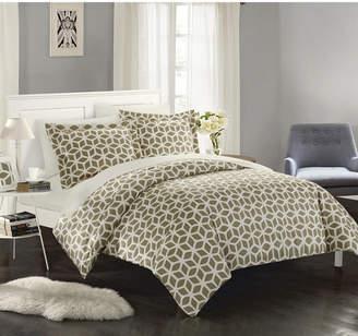 Chic Home Elizabeth 6 Pc Twin Bed In a Bag Duvet Set Bedding