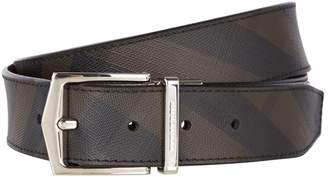 Burberry Reversible Check Belt