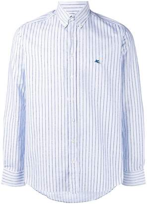 Etro striped long-sleeve shirt