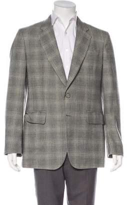 Alexander McQueen Wool Pattern Blazer