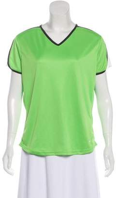 Nike Mesh-Accented Short Sleeve Top