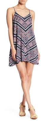 Angie V-Neck Knit Swing Dress
