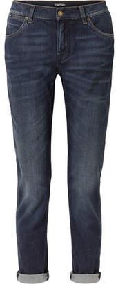 Tom Ford Distressed Boyfriend Jeans - Blue