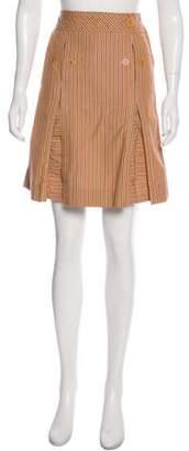 Marc by Marc Jacobs Stripe Knee-Length Skirt