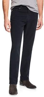 AG Adriano Goldschmied Men's Everett Slim-Straight Twill Pants, Blue