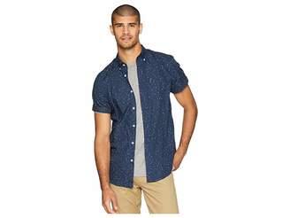 Ben Sherman Short Sleeve Splash Print Shirt