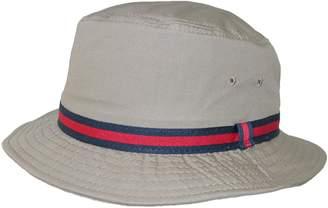 Dorfman Pacific Cotton Water Repellent Traditional Rain Bucket Hat, 2XL