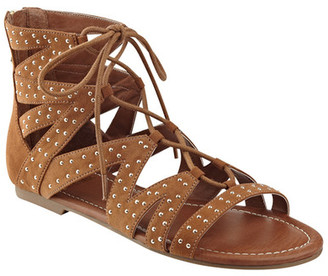 G by GUESS Leidah Gladiator Sandal $55 thestylecure.com
